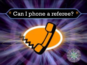 Phone-a-referee