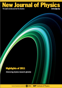 New Journal of Physics Highlights of 2011, Cover Page